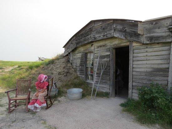 Prairie Homestead Historic Site: Sod home