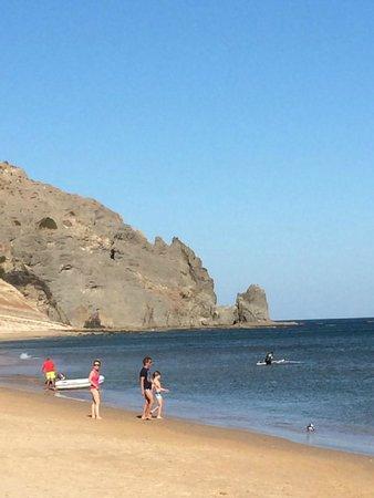 Praia la Luz: пляж