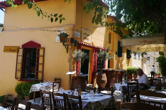 The Old Tavern of Psara : beautiful atmosphere