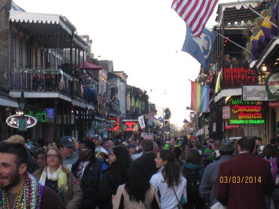 Bourbon Street: Bourbon St
