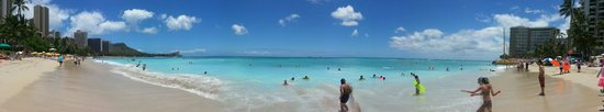 Moana Surfrider, A Westin Resort & Spa: Panoramic view off Waikiki