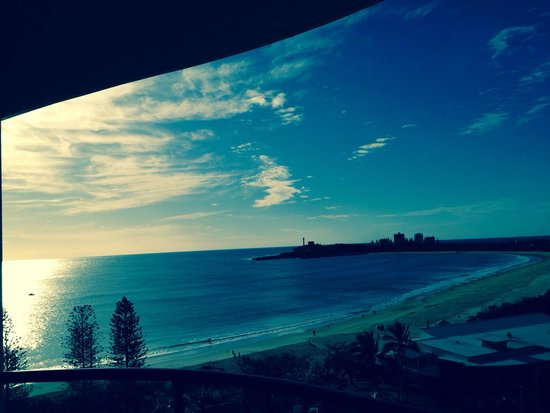 Landmark Resort: View from our room. Landmark mooloolaba