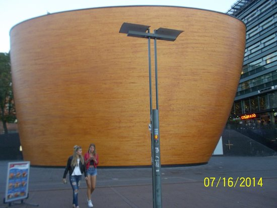 Kamppi Chapel of Silence : Can you guess this a church?