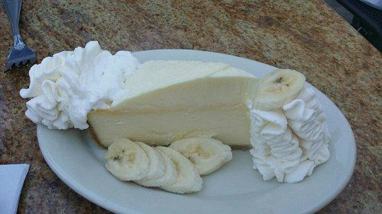 The Cheesecake Factory: Banana Cheesecake with Bavarian Creme and fresh bananas... very yummy