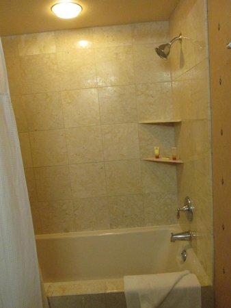 New York - New York Hotel and Casino : Nice shower.