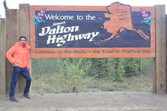 Northern Alaska Tour Company: THiS Was the start of Haul Road