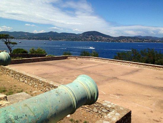 Citadelle de Saint-Tropez - Musee d'histoire maritime: Vue