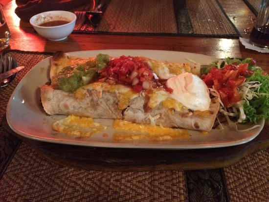 Gringos Cantina Mexican Restaurant: Burrito!!!