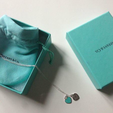 Tiffany & Co. : Tiffany pedant on a chain