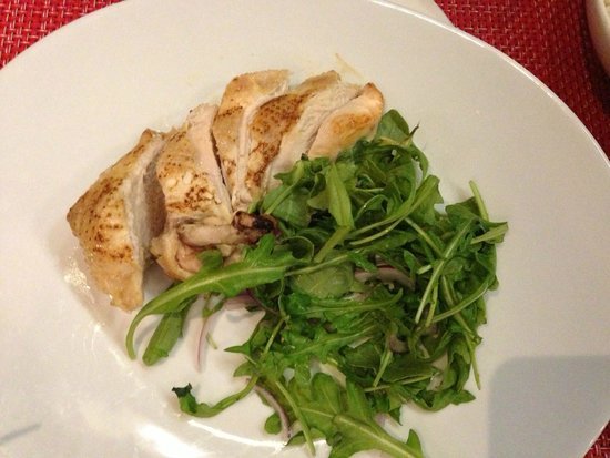 Delicias: the gluten free chicken they prepared with care!