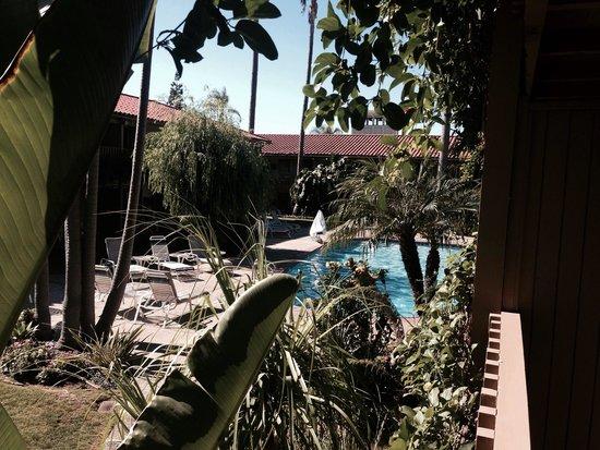 BEST WESTERN PLUS Pepper Tree Inn: From our balcony
