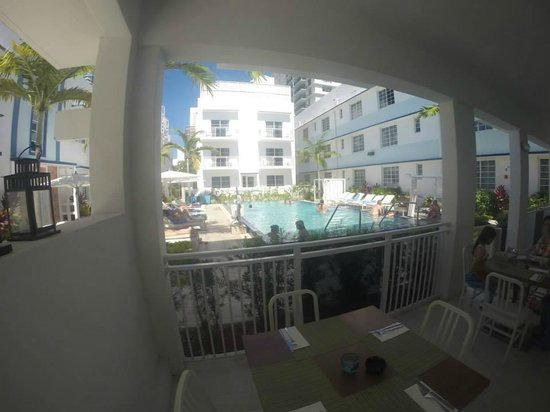 Pestana South Beach Art Deco Hotel : binnenplaats hotel