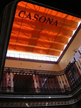 Casona de San Andres Hotel: patio