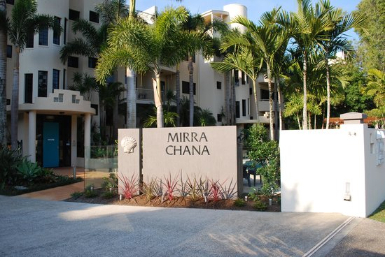 Mirra Chana Apartments - on the Spit Mooloolaba: Entrance