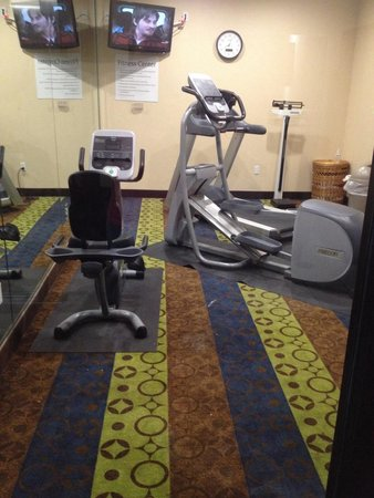 Holiday Inn Express Hotel & Suites Galveston West - Seawall: Workout room