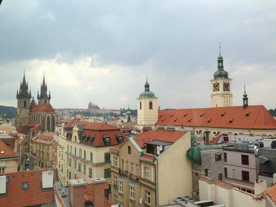 Grand Hotel Bohemia: Vue sur les toits