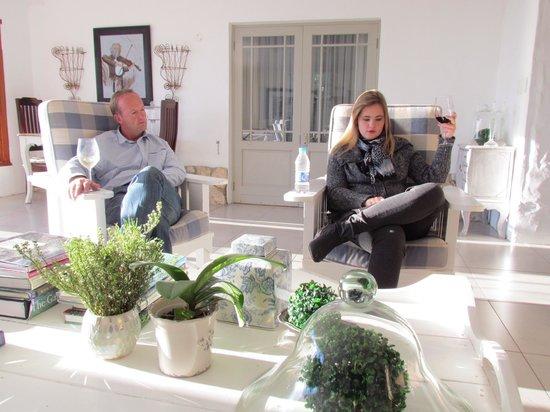 Klokkiebosch Guest House : Just relaxing
