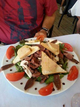 Brasserie Du Roc : Salade landaise