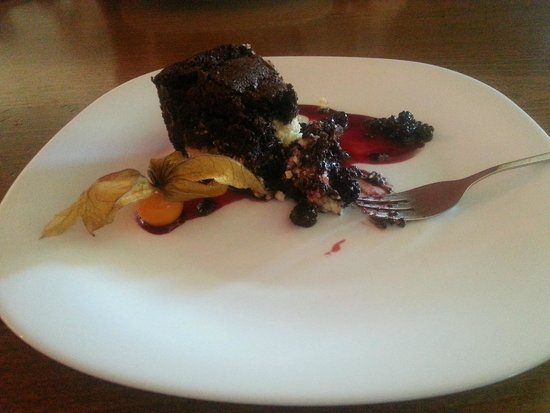 Guest House Vilavita: Delicious brownie for lunch