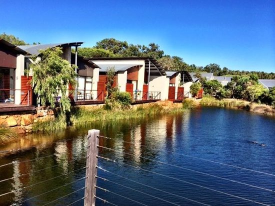 Pullman Bunker Bay Resort Margaret River Region: Far left is our room :-)