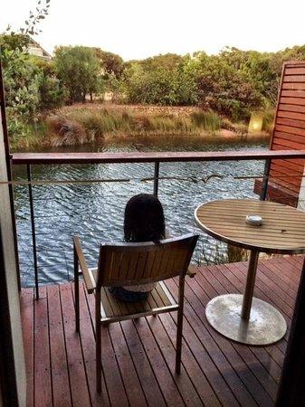 Pullman Bunker Bay Resort Margaret River Region: The little one enjoying her peace at the terrace