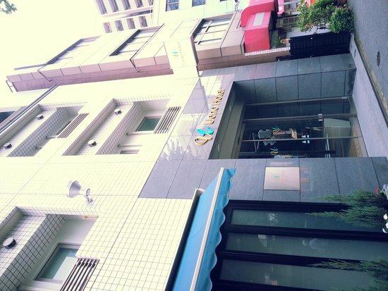 Ueno Hotel: outside hotel