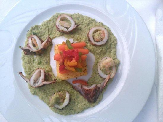 Restaurant Martinac: Presentation style '' gastronomique''