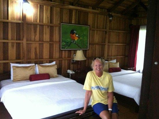 Hotel Lomas del Volcan: When your wife is happy....Everyone is happy!