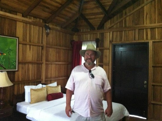 Hotel Lomas del Volcan: I loved the room!