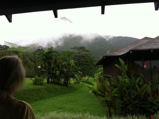 Hotel Lomas del Volcan: View from our back porch.
