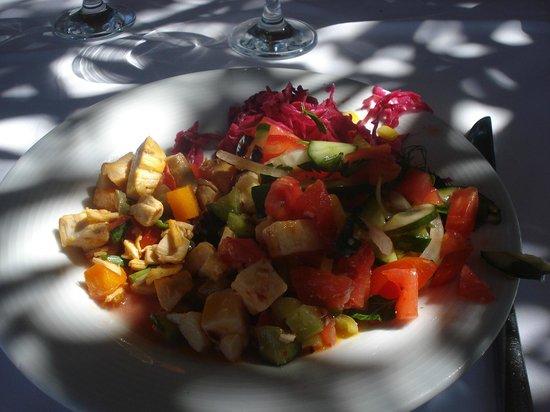 Isil Club Bodrum : Repas buffet