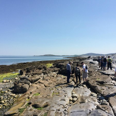 Burren Yoga Retreats: walking along one of the deserted beaches