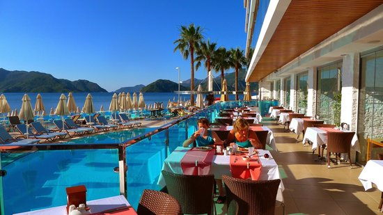 Hotel Marbella: Early breakfast
