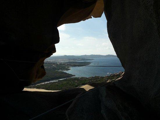 Capo d'Orso: Vista dall'interno