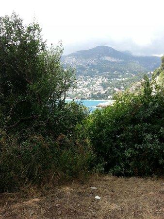Promenade Le Corbusier : Vue sur Monaco
