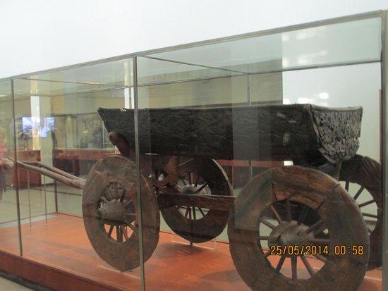 Viking Ship Museum : Viking Wheeled Wagon