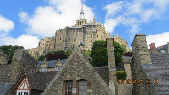 Abbaye du Mont-Saint-Michel : Sunny day at Mont St. Michel