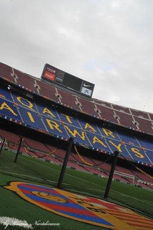 Camp Nou: Ноу камп, трибуны
