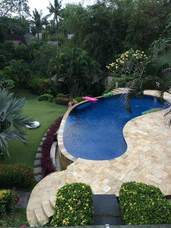 Villa Menari Bali : View From Upstairs