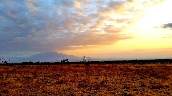 Ndarakwai Ranch Camp: Sunset