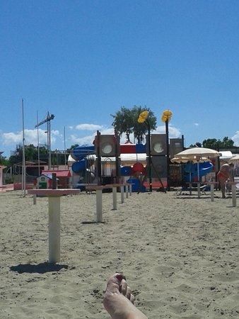 Hotel Palos: I giochi in spiaggia