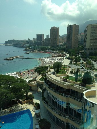 Le Meridien Beach Plaza: sea view