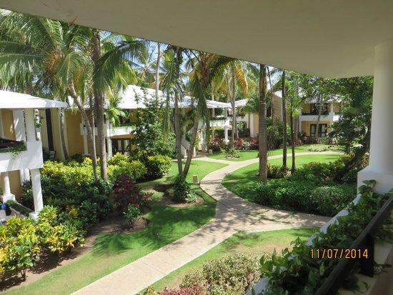 Bavaro Princess All Suites Resort, Spa & Casino: zimmerausblick