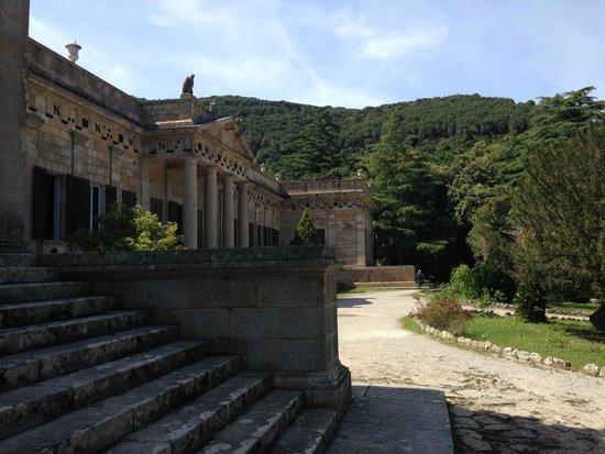 Villa of San Martino: Вход