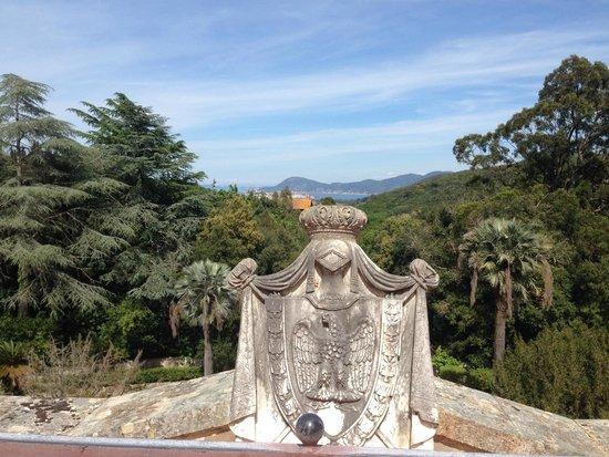 Villa of San Martino: Вид с балкона
