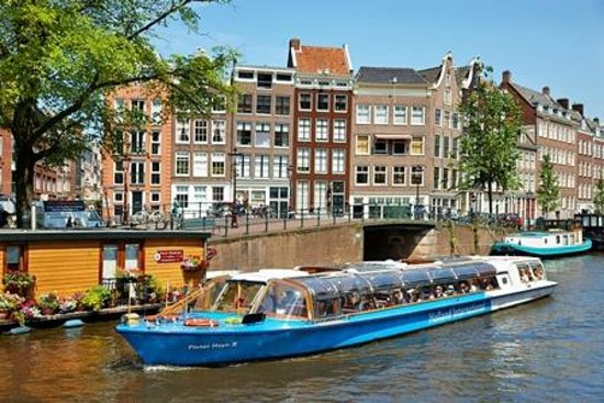 Canal Tours Amsterdam: Holland International Cruises II