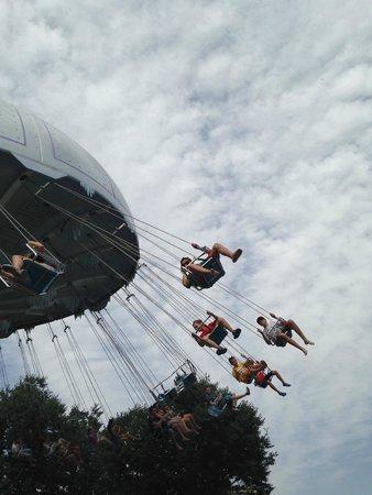 Parque Warner : Sillas Voladoras