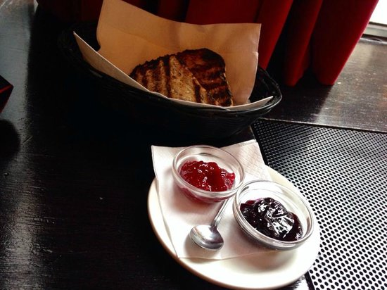 Restaurant Holder: Holder - toast and jams