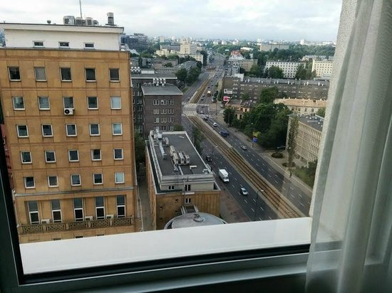 Hampton by Hilton Warsaw City Centre: Warsaw from the room