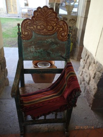 Inkaterra La Casona : Love the Art and Antiques In Every Corner